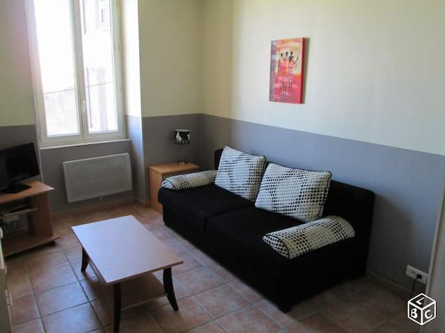 Studio centre historique Robion - Robion - Apartment