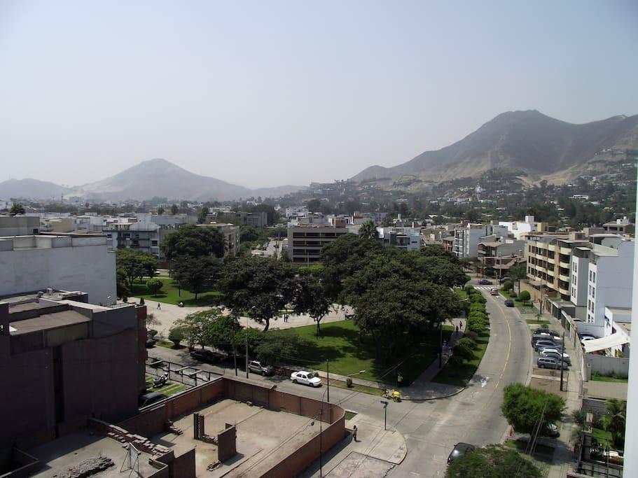 Vista del departamento Av. Jacaranda