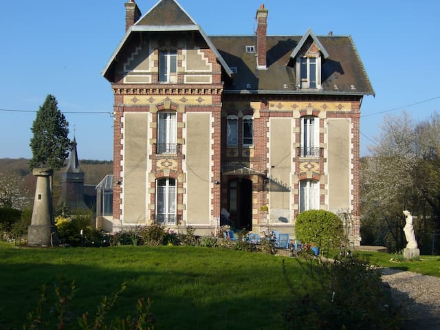 Normandie chambre chez l'habitant  - Mainneville - Bed & Breakfast