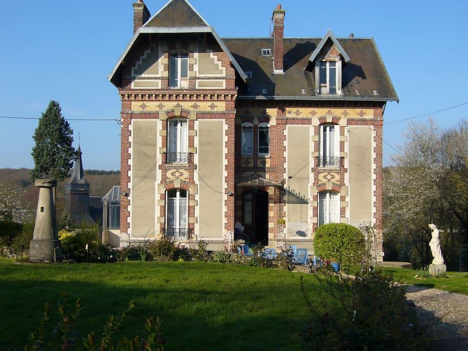 Normandie chambre chez l 39 habitant bed breakfasts zur miete in mainneville haute normandie - Chambre chez l habitant versailles ...