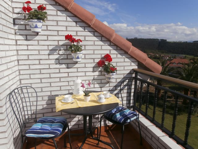 Apartment with wiews near beach - Cantabria - Apartment