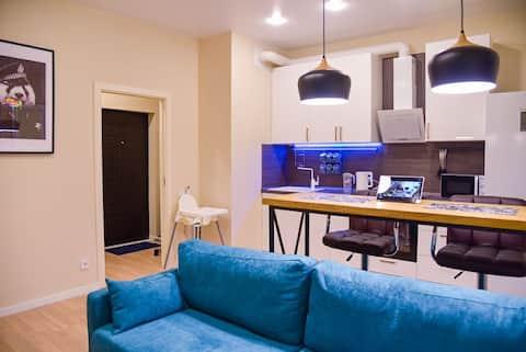 Anapolis VIP Home семейная квартира на берегу моря