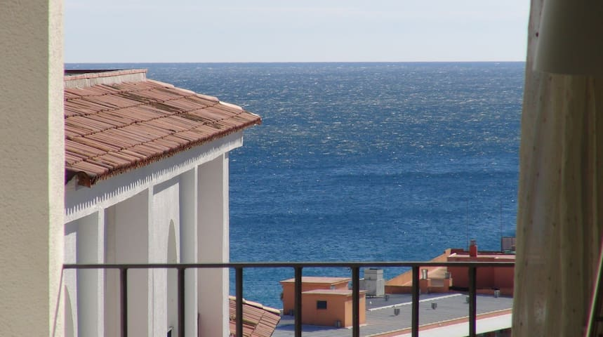 APARTMENT WITH SEA VIEW & pool, garden, dishwasher - Lloret de Mar - Apartment