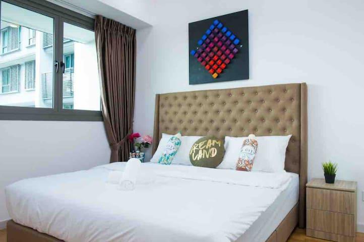 Iskandar Residence (4pax) 丹娜轩 @ JB City Homestay