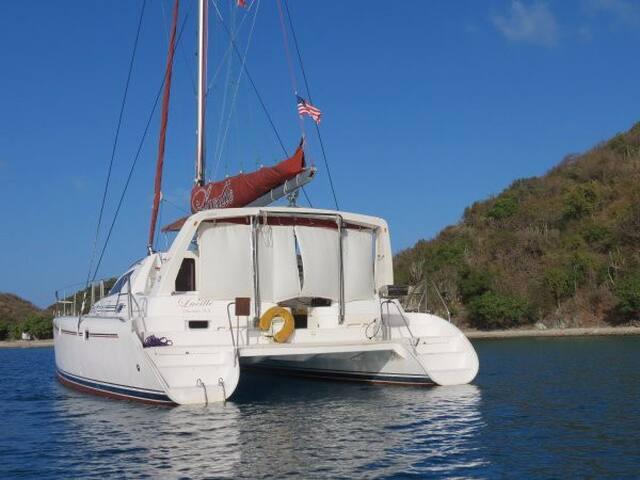 Quiet Yacht Getaway near Charlotte Amalie