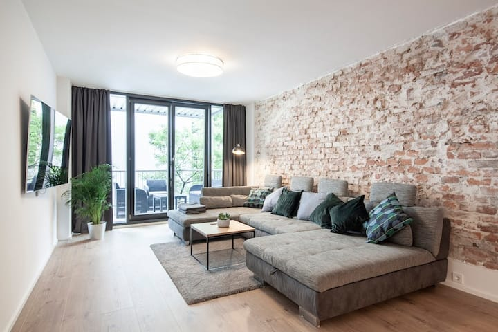 Modern executive apartment in downtown Munich