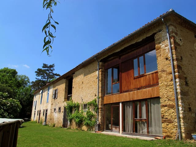 La Goutte Bleu - Baulou - House