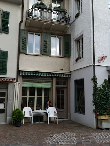 Gemütliches Zimmer in der Altstadt. - Rheinfelden