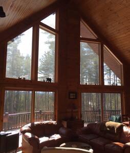 Betsy's Wildlife Retreat: Private & Pet Friendly - Saranac Lake - Haus