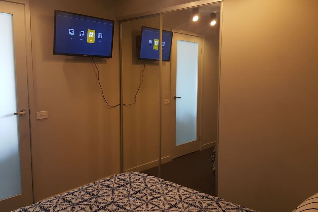 There is a TV in your room