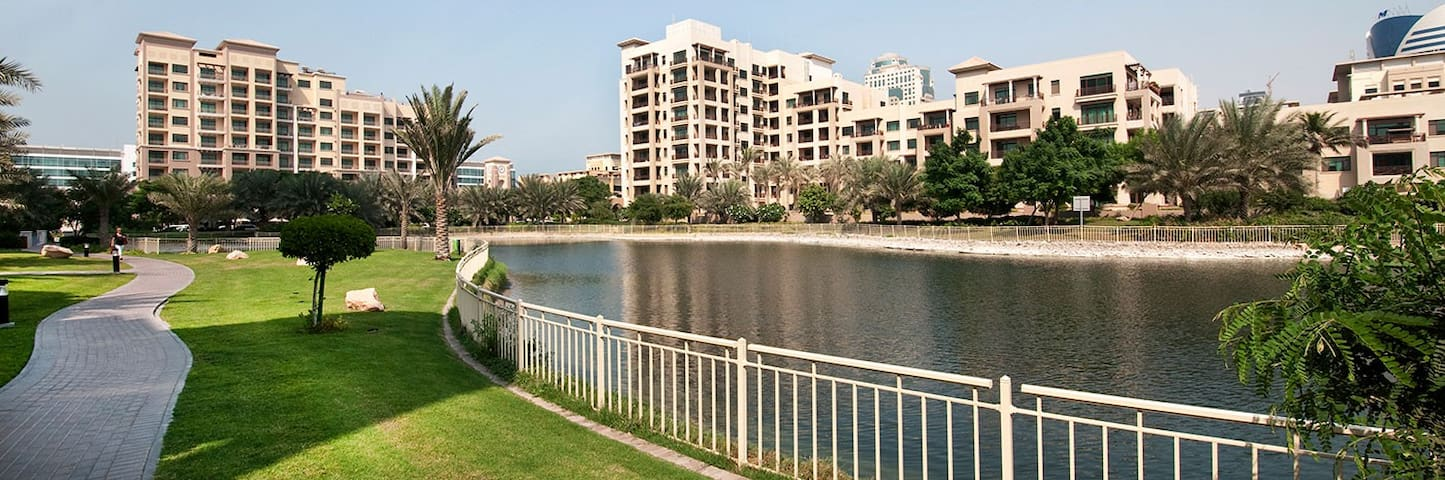 Cozy well located 1BD Apartment in the greens - Dubai - Apartemen