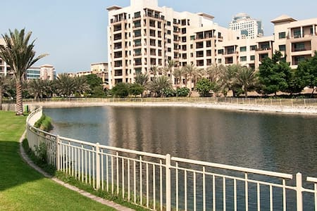 Cozy well located 1BD Apartment in the greens - Dubai - Apartment
