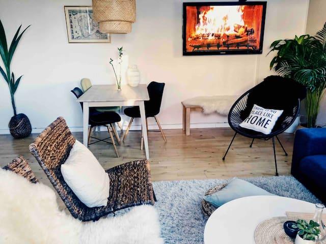 Lovely flat and best location in Copenhagen