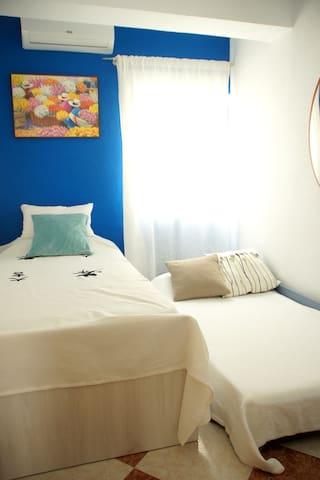 Habitación pequeña - Doble cama individual