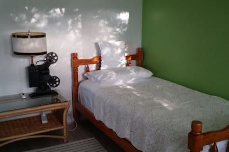 Comfortable large single bedroom for female guests