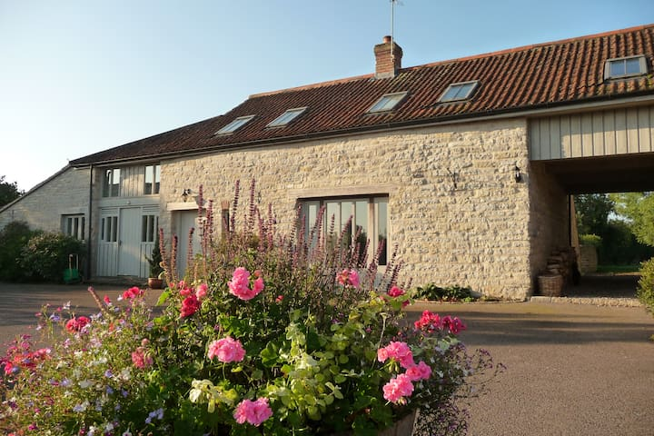 Brook Cottage, Glastonbury - Coxbridge - Huis