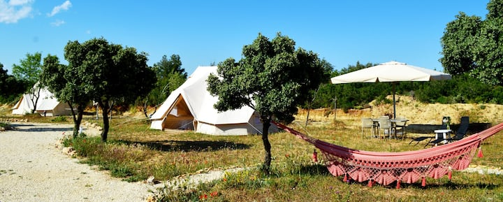 Glamping tent 4 person