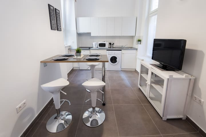 New and modern flat in City Center