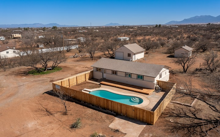 Beautiful Farmhouse in Historical Cochise County