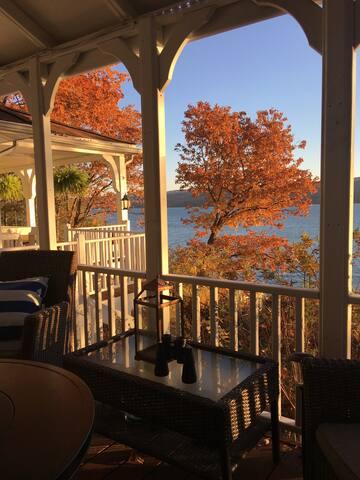 Fall Views from Upper Deck