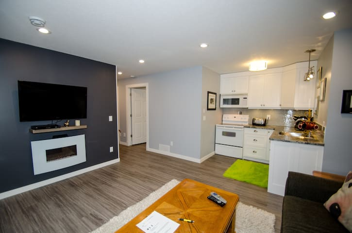 Modern suite 5 minutes from Regina airport - Regina - Appartamento