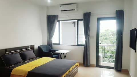 Room 401 in Thao Dien-Apt with window and balcony