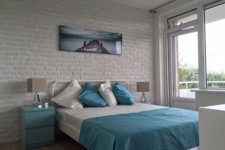 """Work and relax in our """"Beach and Ocean"""" apartment! - Rijswijk - 公寓"""