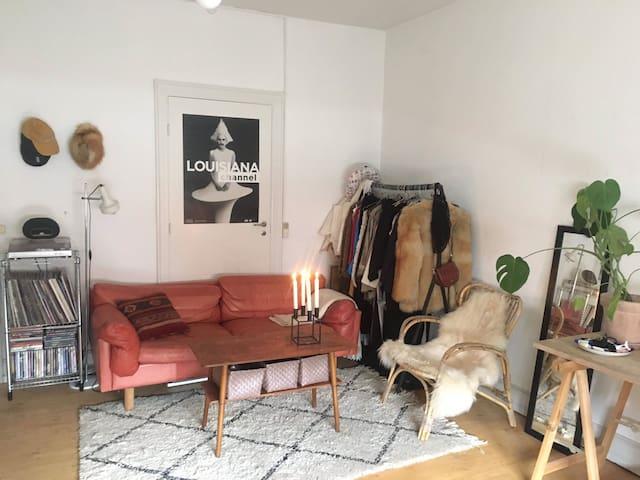 Anne Mette's cozy room