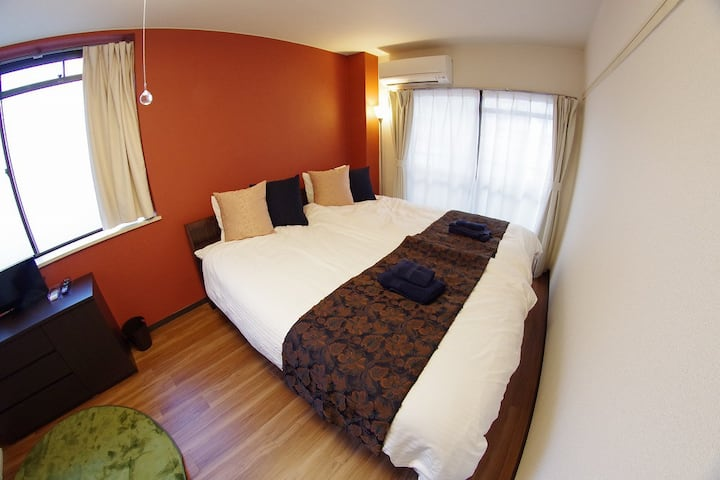 8mins Kyoto st. & NEAR BUS TERMINAL , PRIVATE