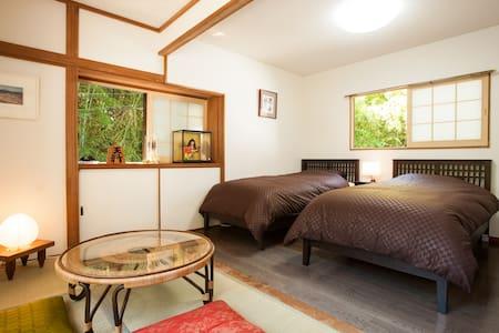 New Open|蔵王の間|JP-Style Guest House|Max3|Free WiFi| - Taihaku-ku,Sendai - 独立屋