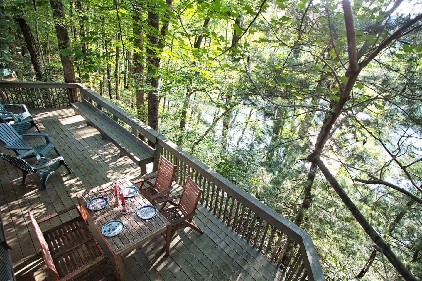 river side deck
