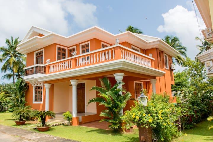 4BHK Villa @ Saudades Majorda,Goa - Majorda - Villa