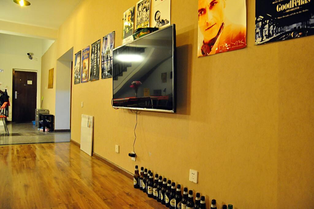 4K电视,可以看清晰的节目及电影
