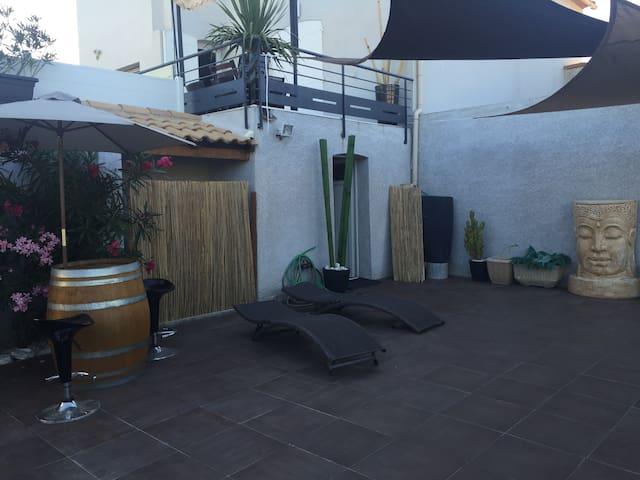 Maison entière avec piscine