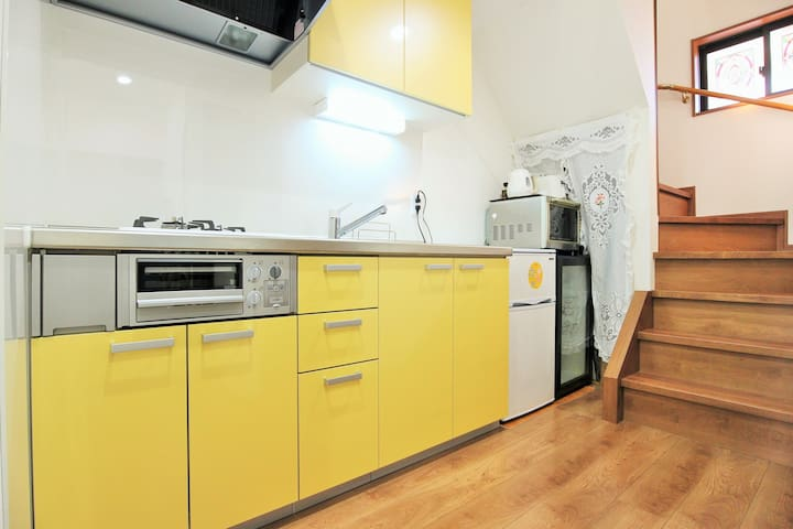 Room5★2P can stay★GUESTHOUSE★Free WIFI&Bicycle★