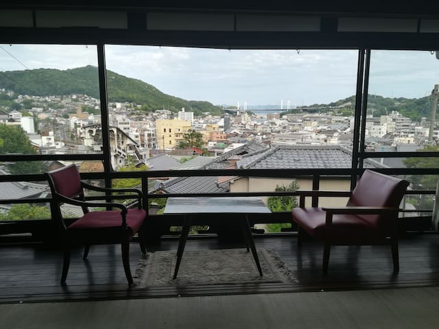Sunrise view at Trad. Villa !! near Onsen & Sta.