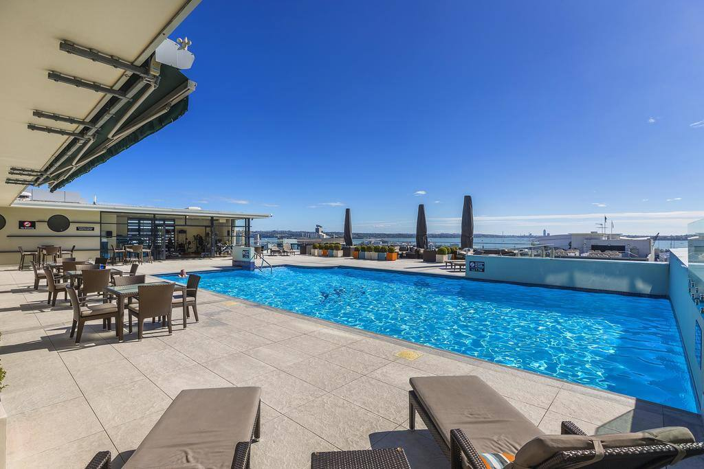 Incredible views from the rooftop pool