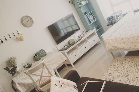 「冰岛奇遇」 地铁1号线陈家祠步行三分钟  北欧公寓阳光大床房 - Guangzhou - Apartment