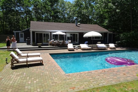 Newly Renovated Sagaponack Gem with great pool - Sagaponack - House