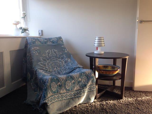 Nette kamer+slaapkamer / Tilburg University.
