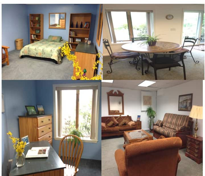 Rhinebeck Suite 1 mile from Omega