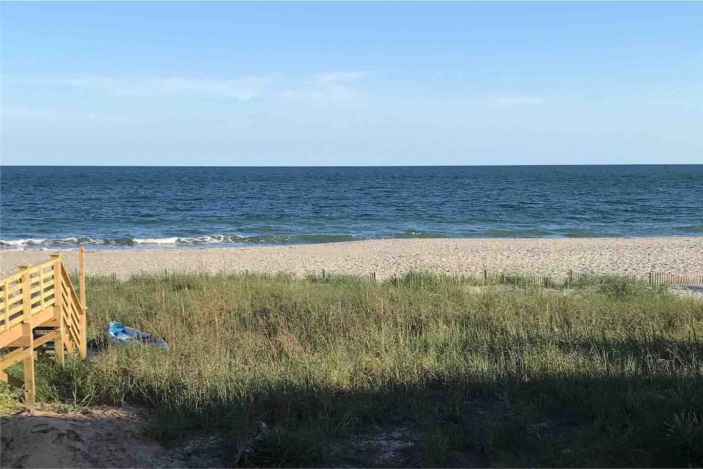 Private beach access from new construction 5 Bedroom 5.5 Bathroom beach house. Enjoy the amazing views at Holden Beach!