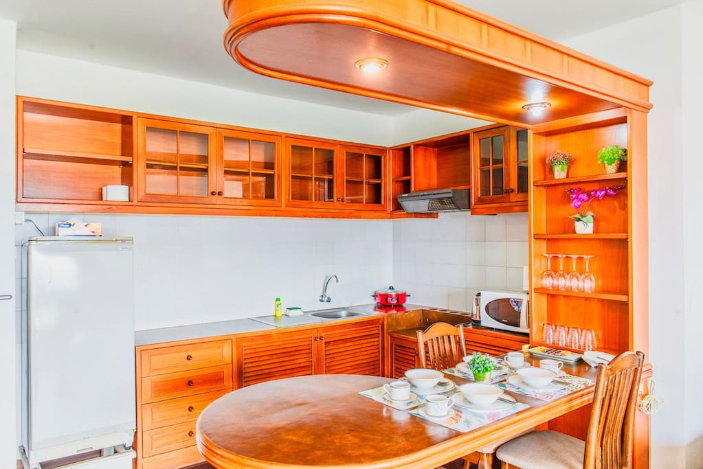 Kitchen with all you need for cook