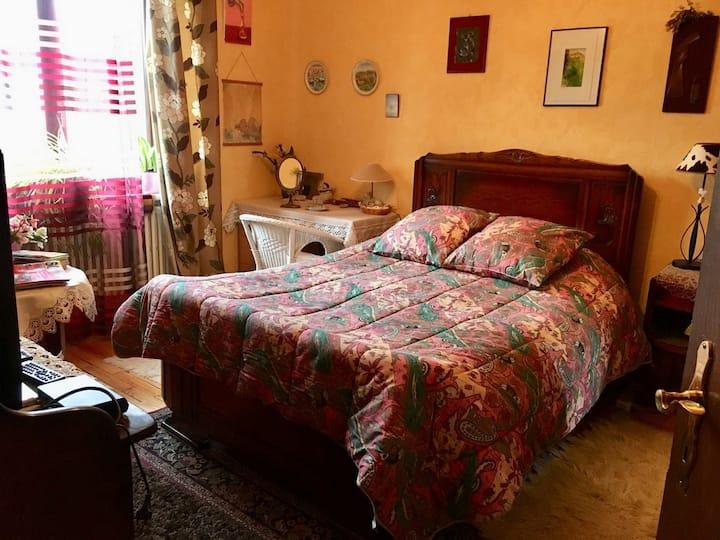 Loue chambre d'hôtes à proximité gare de Metz