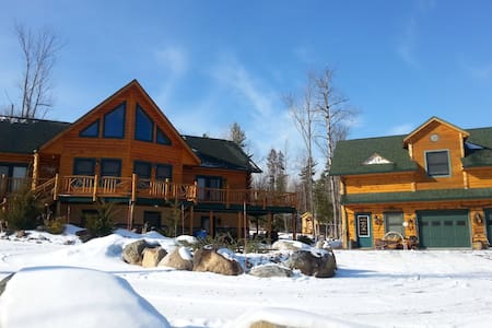 Rustic Adirondack Cabin Apartment - Jay
