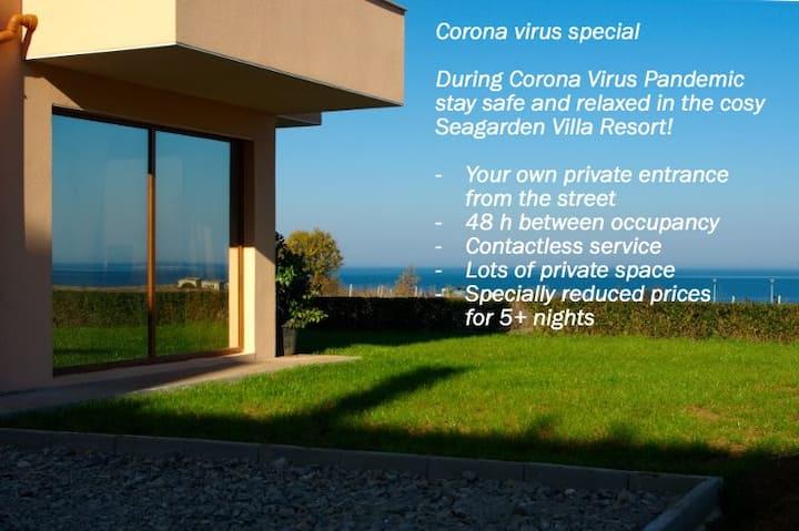 Seagarden Villa Apartment near Oasis Beach (Apt4)