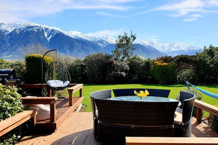 Te Mahuru Retreat Kaikoura- Room 5 with Hot Tub