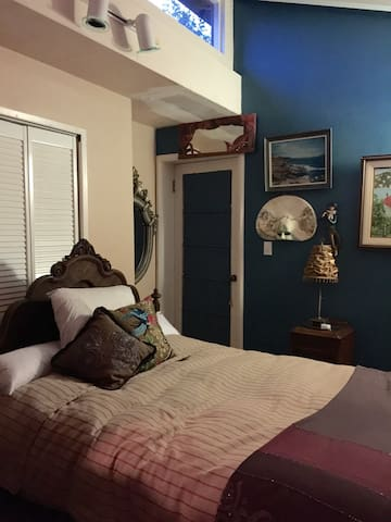 Garden view bedroom plus sunroom - Мартинес - Дом