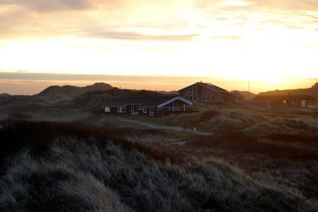 Ferienhaus in den Dünen und direkt an der Nordsee