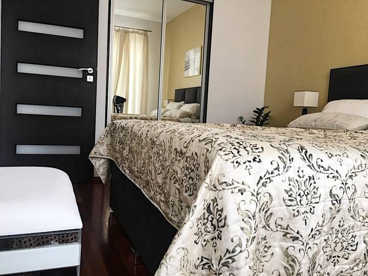 100 square metres Apartament Wilanow